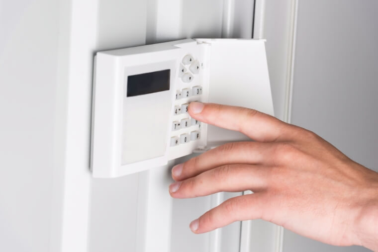 bediening alarmsysteem