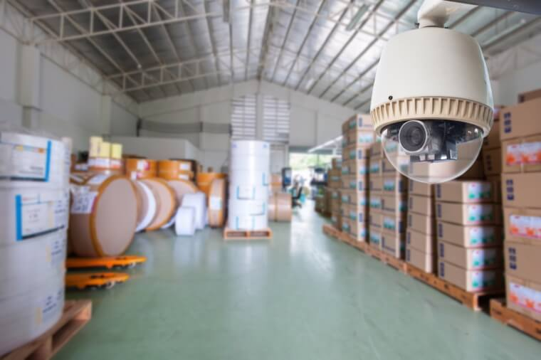 camerabewaking fabriek